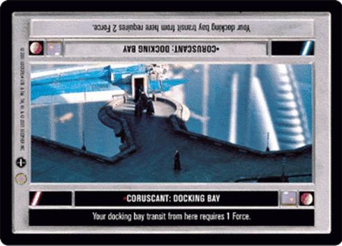 Coruscant: Docking Bay