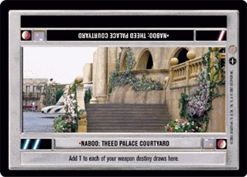 Naboo: Theed Palace Courtyard