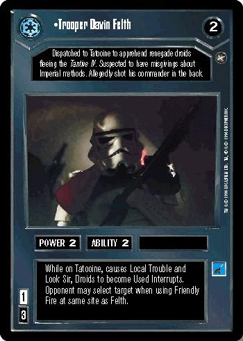 Trooper Davin Felth