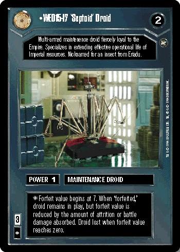 WED15-I7 'Septoid' Droid