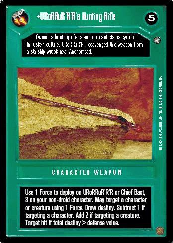 URoRRuR'R'R's Hunting Rifle