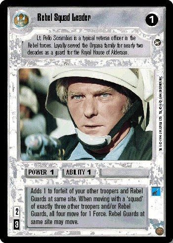 Rebel Squad Leader
