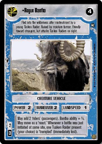 Rogue Bantha