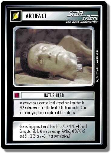 Data's Head