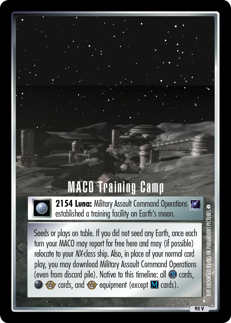 MACO Training Camp