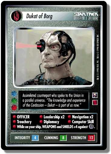 Star Trek CCG EFC Enhanced First Contact Nightmare