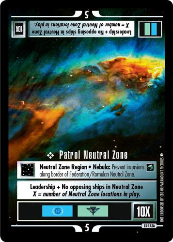 Patrol Neutral Zone