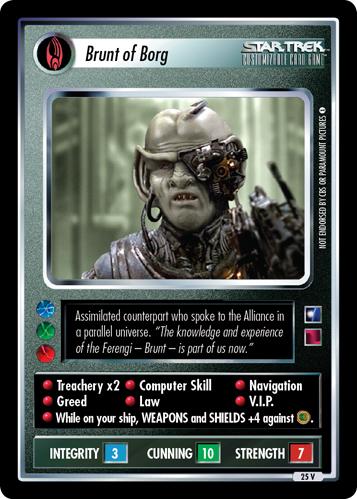 Brunt of Borg