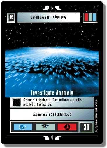 Investigate Anomaly