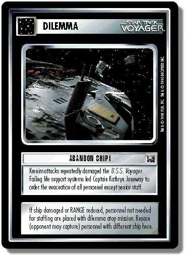 Abandon Ship!