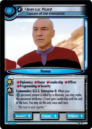 Star Trek Reflections 2.0 Jean-Luc Picard Vintner 6P49