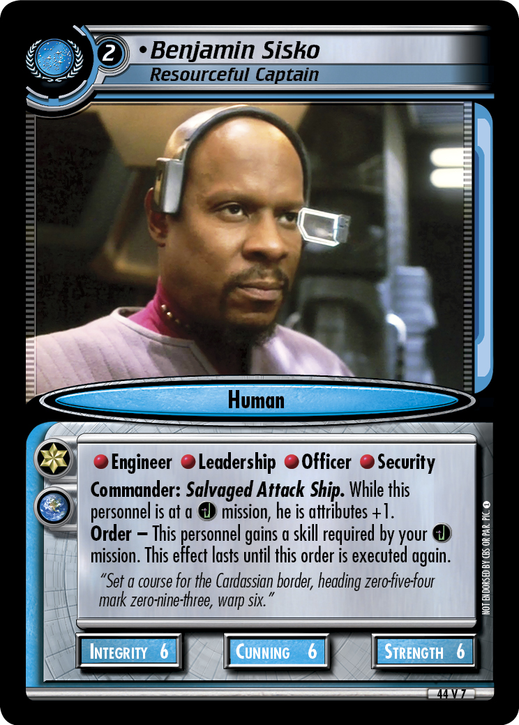 Benjamin Sisko, Resourceful Captain