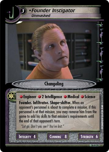 Founder Instigator, Unmasked