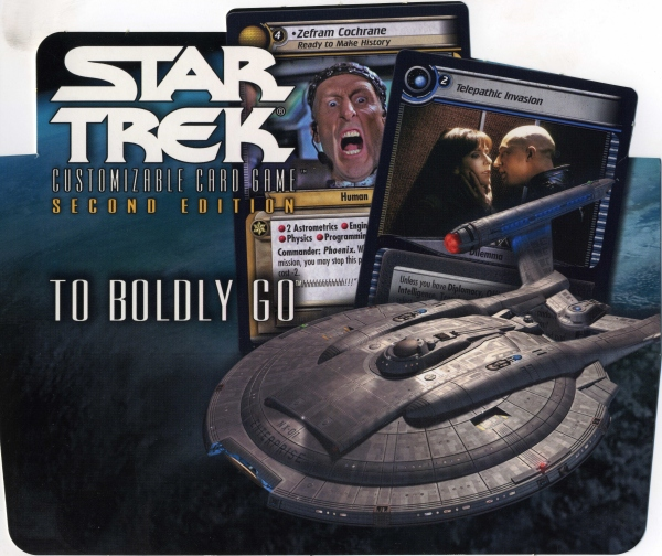 To Boldly Go display